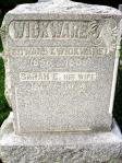 Wickware Headstone